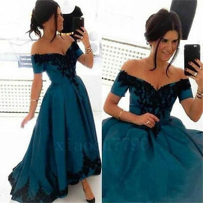 New Lace Evening Cocktail Formal Party Bridesmaid Prom Gown Dress Custom Size
