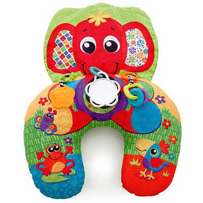 NEW Playgro Lay & Play  Elephant Hugs Pillow
