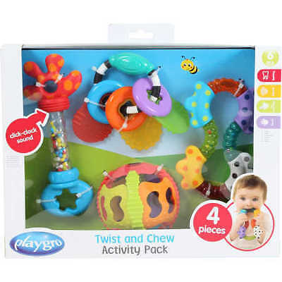 NEW Playgro Twist and Chew Activity Pack