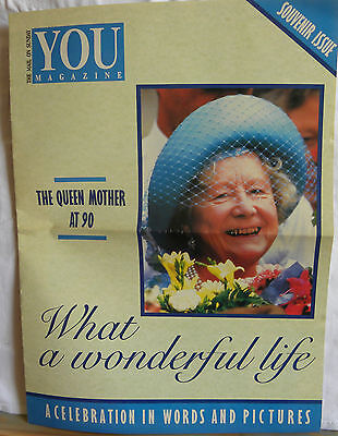 The Queen Mother at 90  A Celebration in Words and Pictures Souvenir Issue