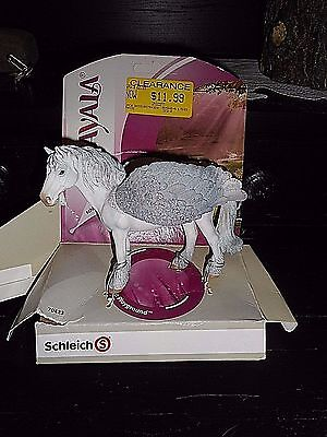 Schleich 70423 Pegasus Standing Bayala Toy Winged Model Horse Figurine