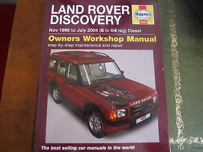 land rover discovery td5 haynes manual