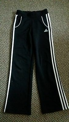 adidas tracksuit bottoms size 11-12 years