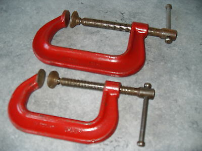 """2 Record G.clamps 3""""--4"""""""