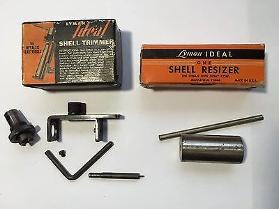 Lyman Ideal Shell Trimmer/She'll Resizer 222. Remington
