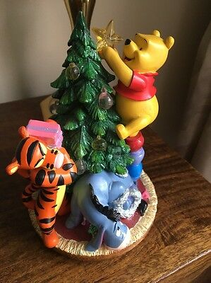 Winnie The Pooh Christmas Ornament With Lights