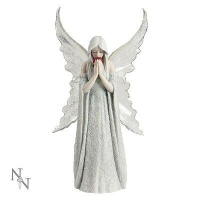 ' Only Love Remains '  Figurine  - Anne Stokes  -  Nemesis Now  - Plus Free Gift