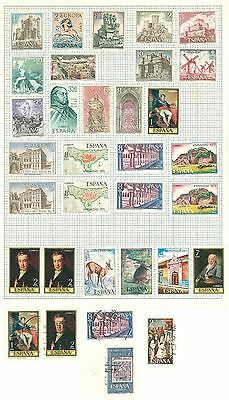 J Spain A99 used 33v Castle Palace Animals Map