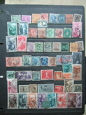Italy - Card Full Of Used Italian Stamps Appear All Different, Odd Better