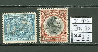 JAR J85a Mozambique 1931 used 2v