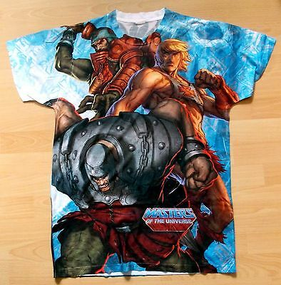 Masters of the Universe - allover Print   T-Shirt *L*