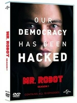 Mr. Robot - Stagione 1 (3 DVD) - ITALIANO ORIGINALE SIGILLATO -