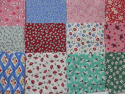 "50 4"" Pack, 1930's Repro Fabric - Judie Rothermel etc. (1)"