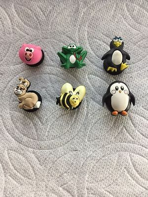 Animal Jibbitz Animal Shoe Charms Pig Penguin Jibbitz Bee Rabbit Frog Jibbitz