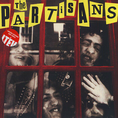 THE PARTISANS Police Story 2015 UK Deluxe Ltd Edition Red Vinyl LP NEW/SEALED