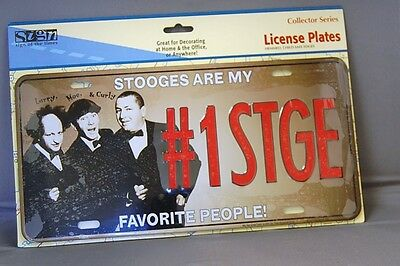 #1Stge - Three Stooges Collector Plate