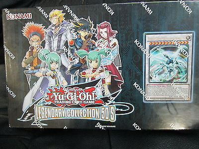 "Yugioh Legendary Collection 5D""s Sealed Album Box"