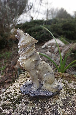 Wolf23 Figurine  Statuette   Loup Canin  Chien   Heroic Fantasy