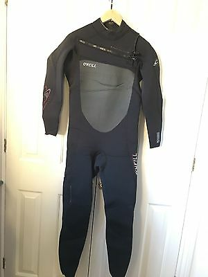 O'Neill Superfreak Full Length Wetsuit 4/3mm Chest Zip size UK M EURO 50