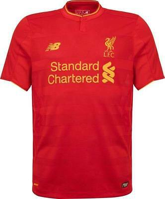 LIVERPOOL FC HOME Shirt 2016 / 2017 New Season  ADULT WITH TAGS S /M /L /XL