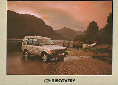 Land Rover Discovery Mk1 Oversize Preview Brochure 1990/91 - V8i/200 Tdi - Mint