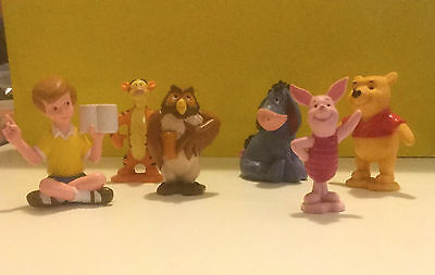 Winnie the Pooh, Christopher Robin and friends