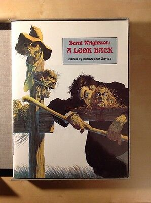 Bernie Wrightson - A Look Back Signed Hardcover
