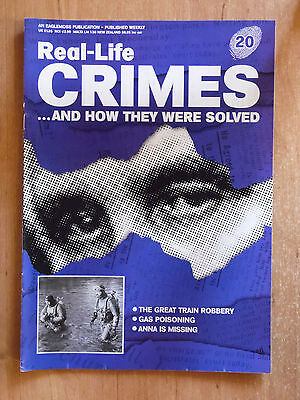 Real-Life Crimes Magazine Vol.2 Part 20 Great Train Robbery,Gas Poisoning
