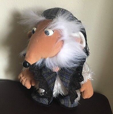 WOMBLES UNCLE BULGARIA PLUSH SOFT TOY FIRST LOVE 1998 Plus Book