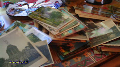 Huge lot of old postcards / photos etc (see video) huge potential