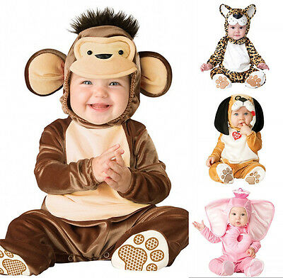 Infant Baby Animal Costume Leotard Anime Cosplay Toddlers Dance Show Costume