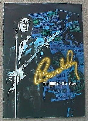 1987-1989 The Buddy Holly Story (Victoria Palace London) Programme (Bruce Welch)