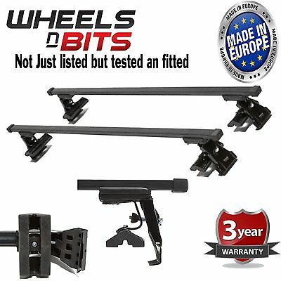 Ford Fusion 5Dr 02-12 Roof Bars Rack 75KG Model Custom Direct Fitted