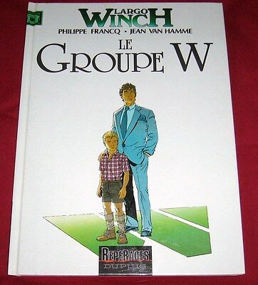 Largo Winch 2 - Le Groupe W - Reperages Dupuis - Be