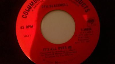 northern soul OTIS BLACKWELL it's all over me