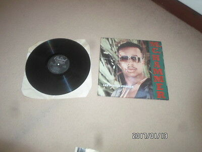 a lp vinyl record m.c hammer,lets get it started
