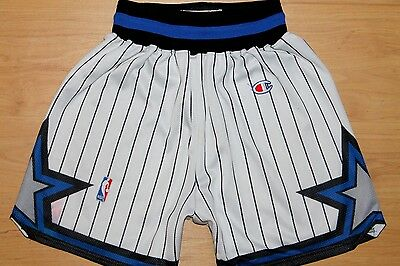 Vintage Champion Orlando Magic 1994-95 Nba Basketball Shorts,retro,size:medium