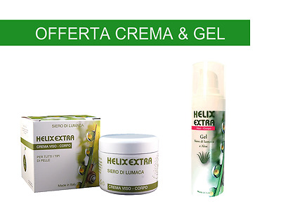 Offerta Helix Extra Crema 30ml + Gel Bava e Aloe 30ml