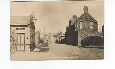 Postcard. The Grove Hospital, Tooting Grove. Lovely Real Photo.