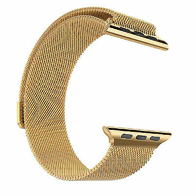 Luxury Magnetic Loop Stainless Steel Watch Band Strap For Watch 42mm