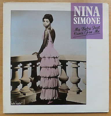 "Nina Simone - My Baby Just Cares for Me 12"" Vinyl Very Good Condition CYZ112"