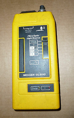 Megger ols510 and otp520 optical cable / fiber tester