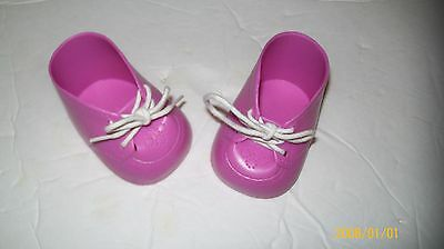 CABBAGE PATCH KIDS DOLL shoes DARK pink