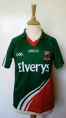 Mayo GAA 2012-2013 Official O'Neills Gaelic Football Jersey (Youths 9-10 Years)