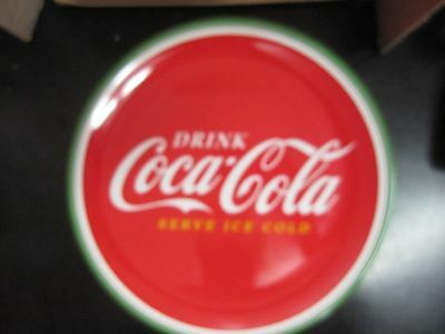 """Coca-Cola 10.5"""" Melacore  Dinner Plate  Classic - NEW   FREE SHIPPING"""