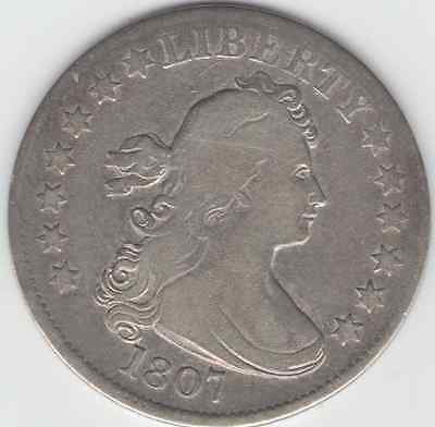 1807 Bust Quarter  Circulated