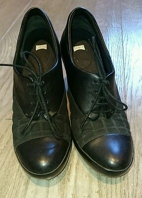 camper women's shoes shoeboot black size 6 39 good condition