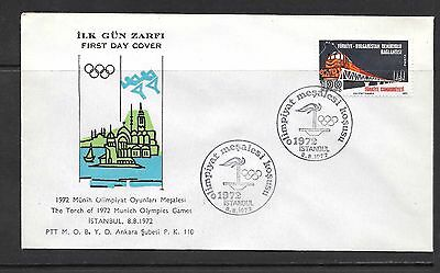 Cover Turkey The Torch of 1972 Munich Olympics Games #1