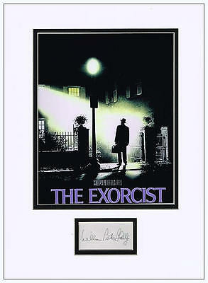 William Peter Blatty Autograph Signed - The Exorcist - AFTAL  UACC RD