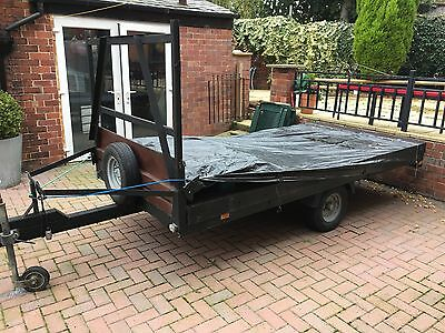 Trailer 10x5ft Flat Bed